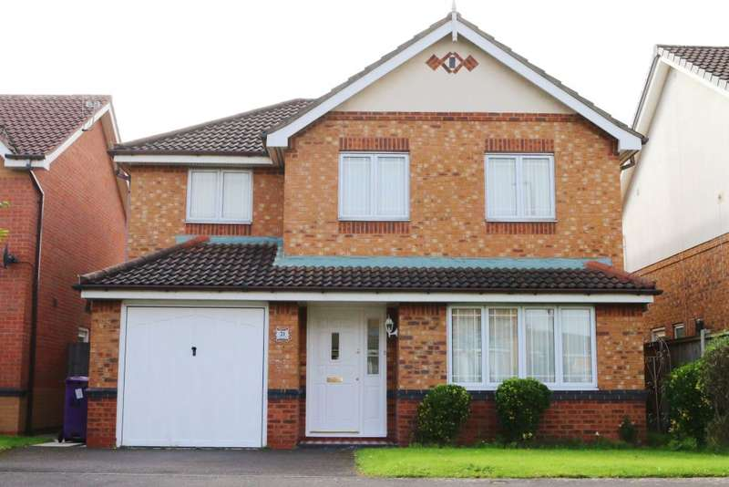 4 Bedrooms Detached House for sale in Whitewood Park, Liverpool, Merseyside L9 7LF