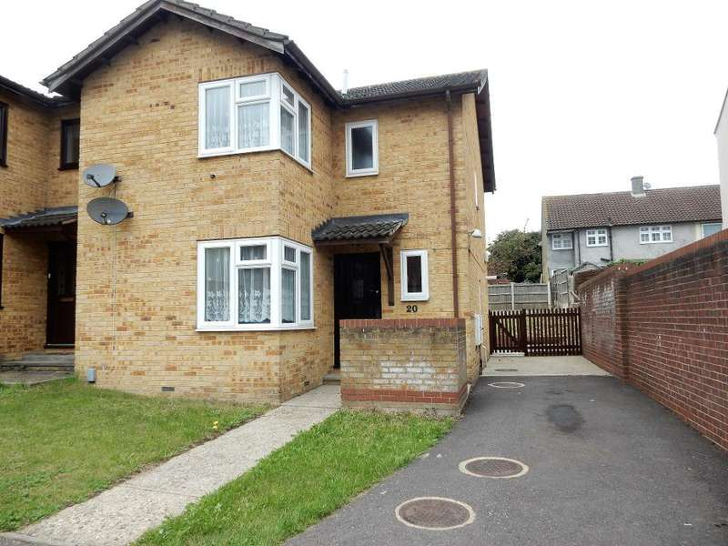 3 Bedrooms Semi Detached House for sale in Kirby Close, Harold Hill, Romford, Essex, RM3 9UE