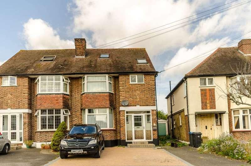 4 Bedrooms Semi Detached House for sale in Pembroke Avenue, Surbiton, KT5