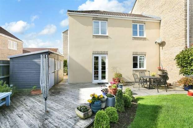 3 Bedrooms Link Detached House for sale in Kersey Court, Frome