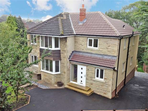 5 Bedrooms Detached House for sale in South Grove, Nab Wood, Shipley
