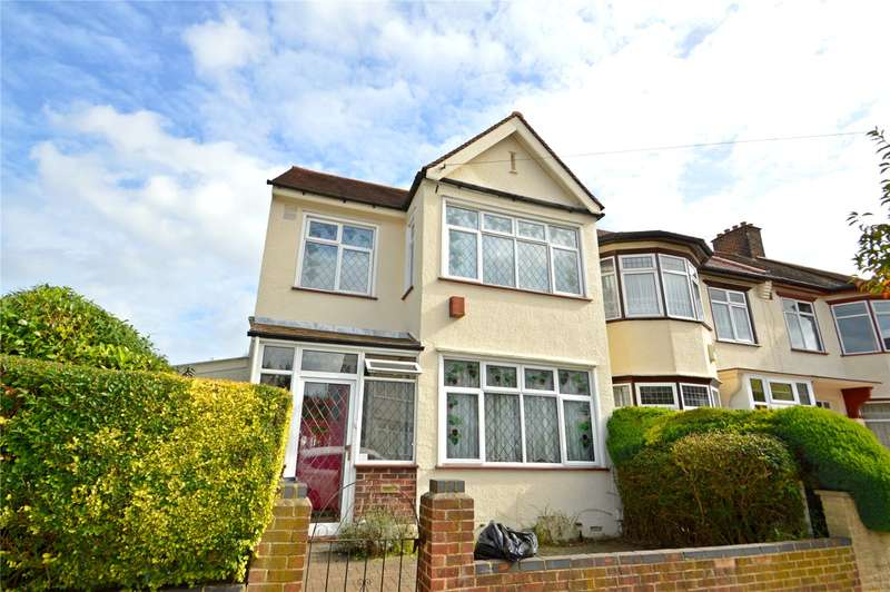 3 Bedrooms Semi Detached House for sale in Craven Road, Croydon
