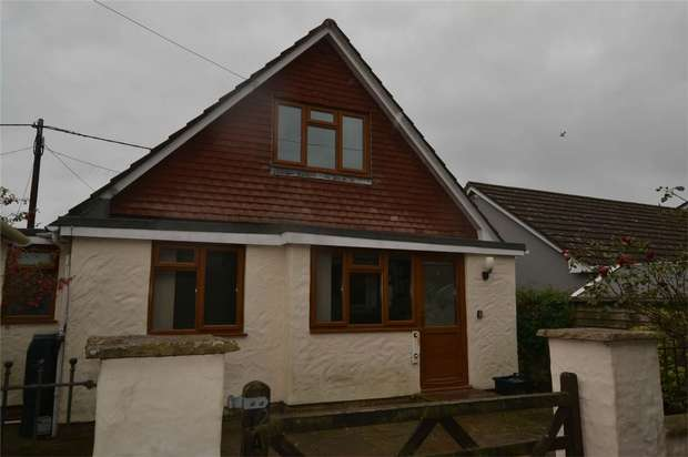 4 Bedrooms Detached Bungalow for sale in Braunton, Devon