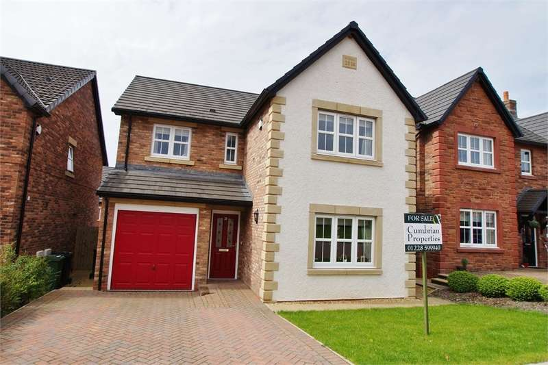 4 Bedrooms Detached House for sale in CA6 4EU Charlton Way, Kingstown, Carlisle, Cumbria