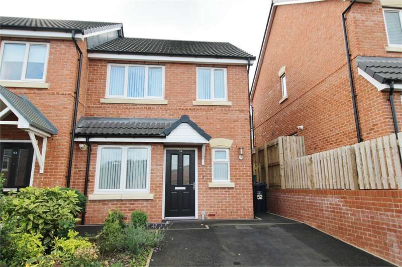2 Bedrooms Semi Detached House for sale in CA2 7BF Thomlinson Avenue, CARLISLE, Cumbria