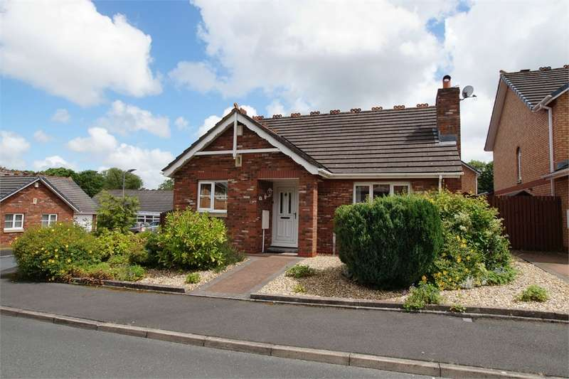2 Bedrooms Detached Bungalow for sale in CA3 9FL Larch Drive, Stanwix, Carlisle, Cumbria