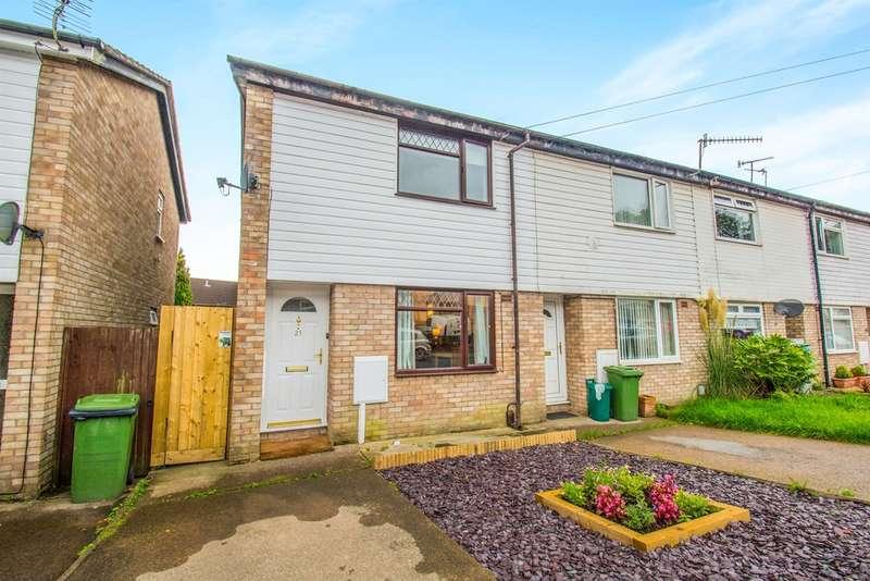 2 Bedrooms Semi Detached House for sale in Rhiw'r Ddar, Taffs Well, Cardiff