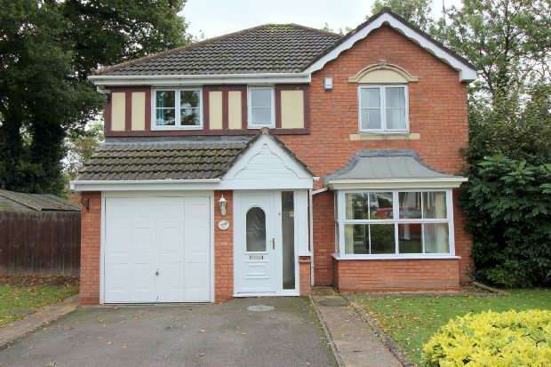 4 Bedrooms Detached House for sale in Lavender Close, Eliott Gardens, Bedworth, Nr Coventry