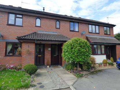 2 Bedrooms Terraced House for sale in Bailey Court, Alsager, Cheshire