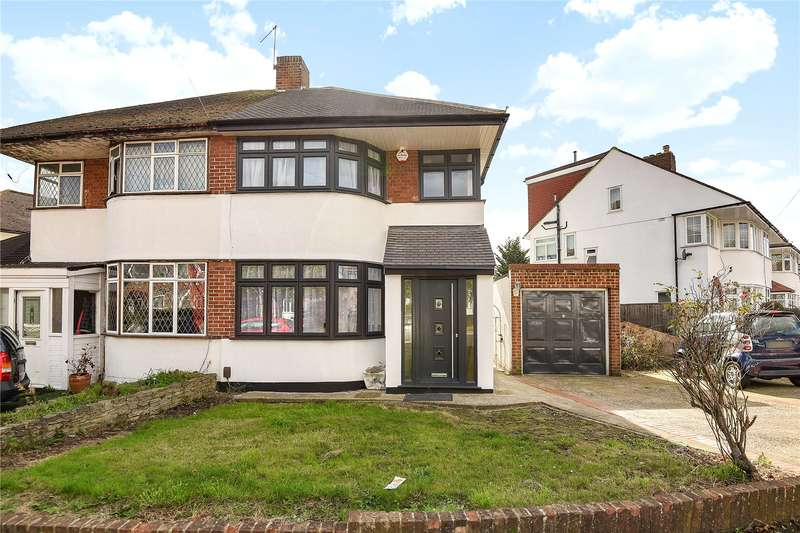 3 Bedrooms Semi Detached House for sale in Pavilion Way, Ruislip, Middlesex, HA4