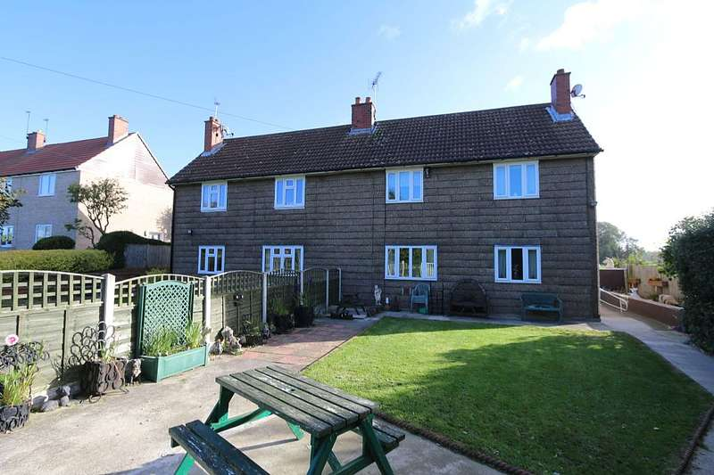 4 Bedrooms Semi Detached House for sale in Scarthingwell Crescent, Saxton, Tadcaster, North Yorkshire, LS24 9QE