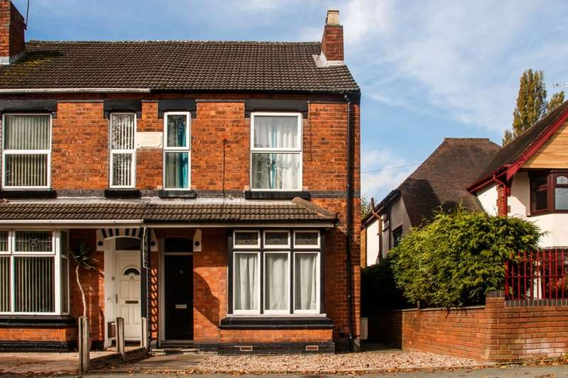 3 Bedrooms Semi Detached House for sale in Prestwood Road West, Wolverhampton, WV11