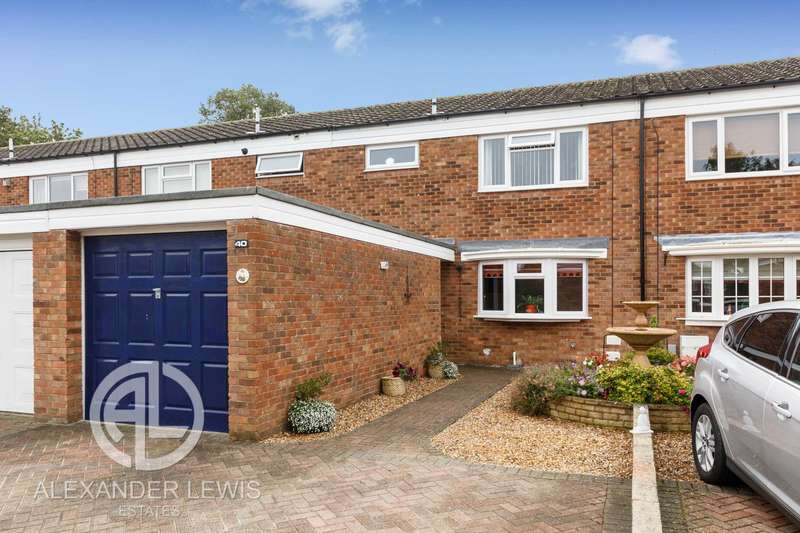 3 Bedrooms Terraced House for sale in Avocet, Letchworth, SG6 4TH