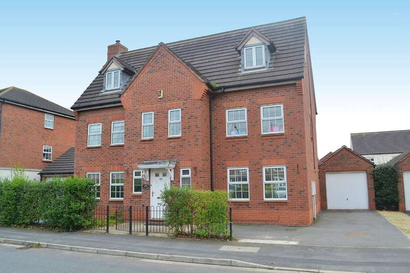 6 Bedrooms Detached House for sale in Worthington Road, Fradley