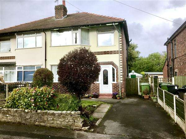 3 Bedrooms Semi Detached House for sale in Arlington Drive, Macclesfield