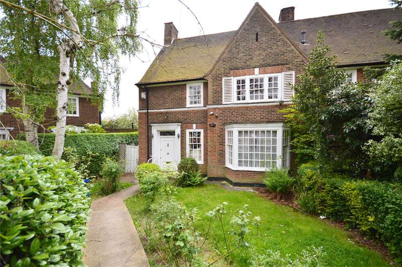 4 Bedrooms Semi Detached House for sale in Gurney Drive, East Finchley, London, N2