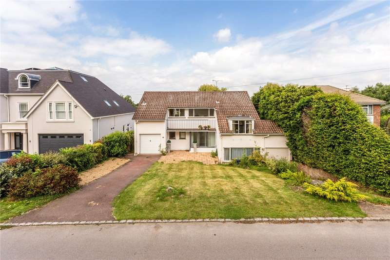5 Bedrooms Detached House for sale in Wayneflete Tower Avenue, Esher, Surrey, KT10