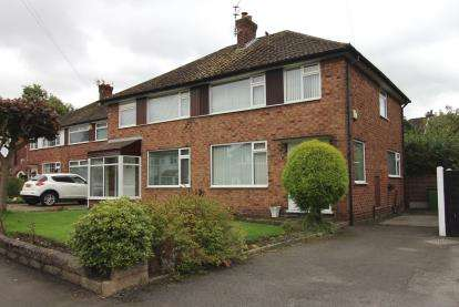 3 Bedrooms Semi Detached House for sale in Alderdale Road, Cheadle Hulme, Cheadle, Greater Manchester