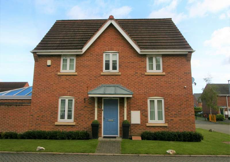 3 Bedrooms Detached House for sale in Rockford Gardens, Warrington, WA5