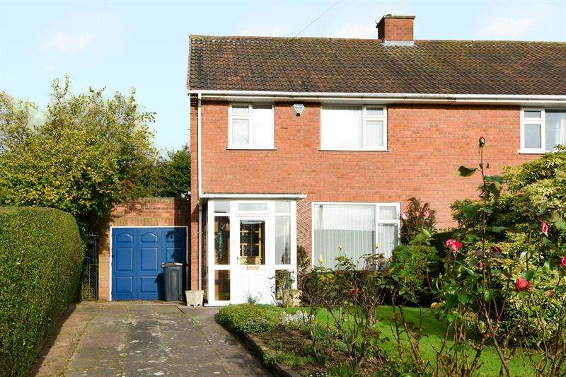 3 Bedrooms Semi Detached House for sale in Long Mynd Road, Northfield, BOURNVILLE VILLAGE TRUST