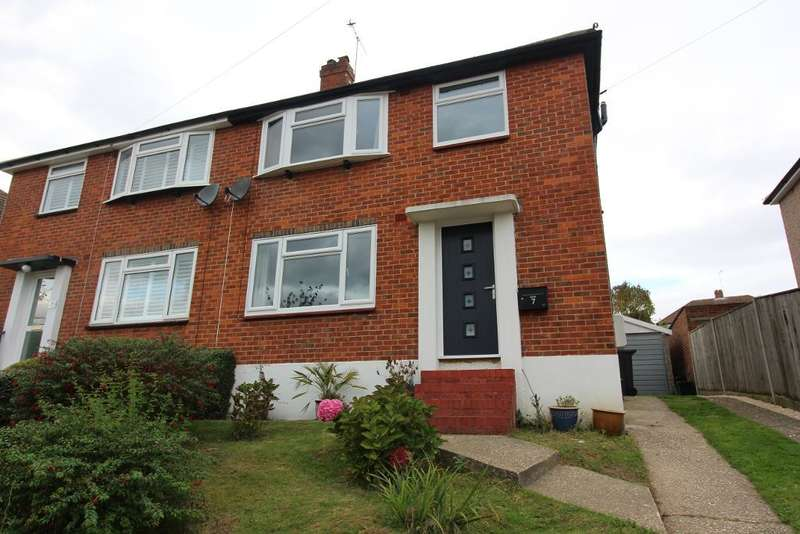 3 Bedrooms Semi Detached House for sale in Reed Avenue, Orpington, Kent, BR6 9RU