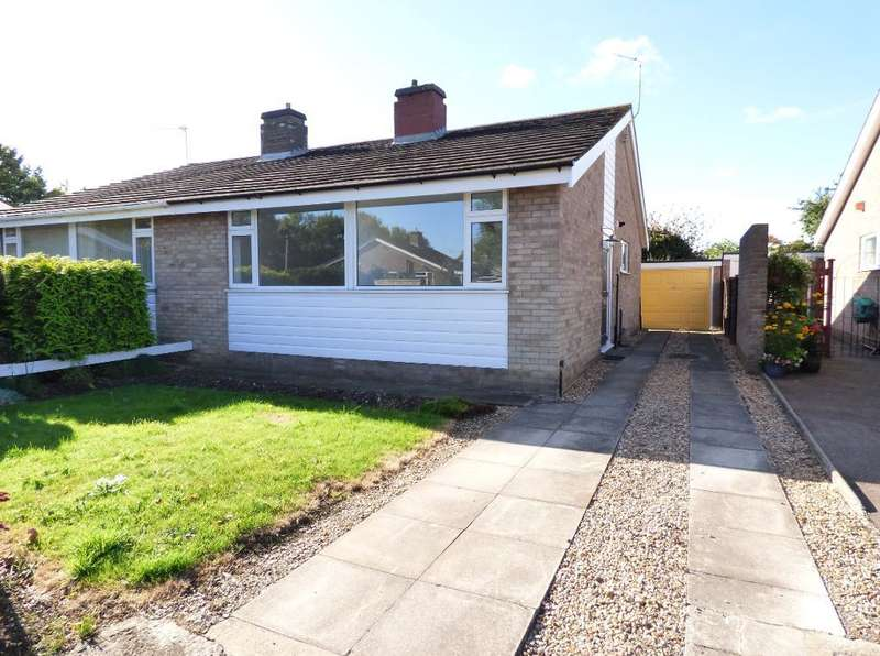 2 Bedrooms Semi Detached Bungalow for sale in Chapel Close, Bedford, Bedfordshire, MK41 0DR