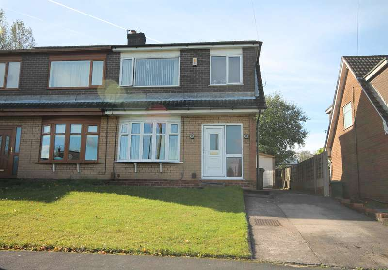 3 Bedrooms Semi Detached House for sale in Lichfield Close, Farnworth, Bolton, BL4 0NH