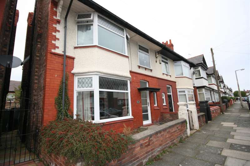 4 Bedrooms Semi Detached House for sale in Malpas Road, Wallasey, CH45 4QJ