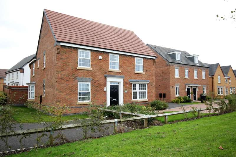 4 Bedrooms Detached House for sale in Chalmers Close, Worcester, Worcester, WR5