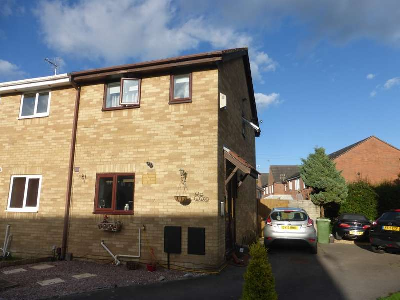 2 Bedrooms Semi Detached House for sale in Caraway Close, St. Mellons, Cardiff