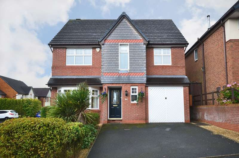 5 Bedrooms Detached House for sale in Princetown Close, Meir Park, ST3 7WN