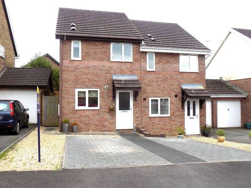 2 Bedrooms Semi Detached House for sale in Priory Court, Bryncoch, Neath, Neath Port Talbot. SA10