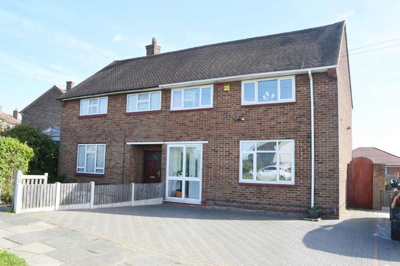 3 Bedrooms Semi Detached House for sale in Dunstable Road, Harold Hill
