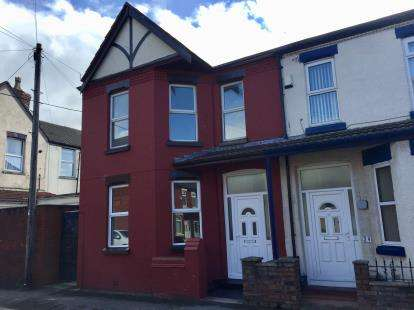 3 Bedrooms End Of Terrace House for sale in Mount Street, Waterloo, Liverpool, Merseyside, L22