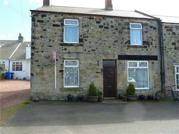 3 Bedrooms End Of Terrace House for sale in Main Street, Seahouses, Northumberland