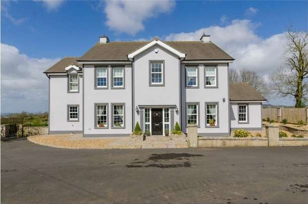 4 Bedrooms Detached House for sale in Tobergill Road, Templepatrick, Ballyclare, County Antrim