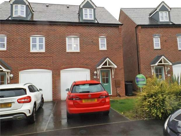 3 Bedrooms Semi Detached House for sale in Olympic Way, Hinckley, Leicestershire