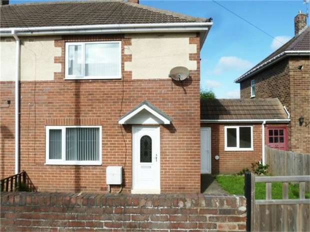 2 Bedrooms Semi Detached House for sale in Walton Drive, Choppington, Northumberland