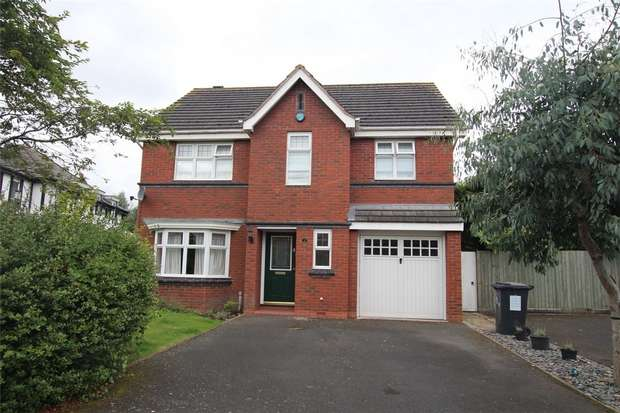 5 Bedrooms Detached House for sale in Wyndham Wood Close, Fradley, Lichfield, Staffordshire