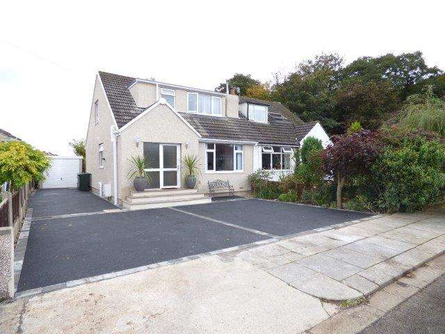 3 Bedrooms Semi Detached House for sale in Easdale Avenue, Torrisholme, Morecambe, LA4 6TN