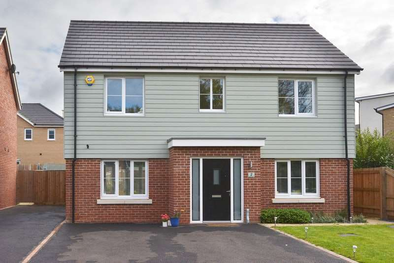 4 Bedrooms Detached House for sale in Holmes Meadow, Redhouse Park, Buckinghamshire, MK14