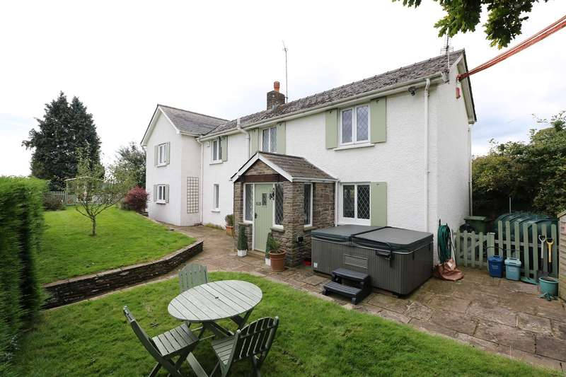 3 Bedrooms Detached House for sale in Ty-Tach Lane, Llanvapley, Abergavenny, NP7