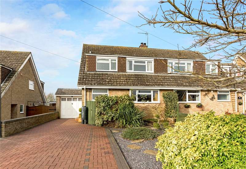 3 Bedrooms Semi Detached House for sale in South Close, Greatworth, Banbury, Oxfordshire, OX17