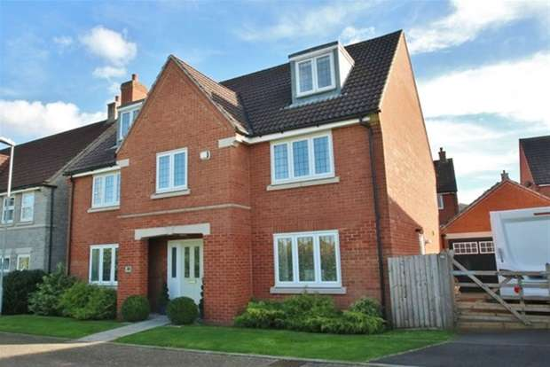 5 Bedrooms Detached House for sale in Watts Corner, Glastonbury