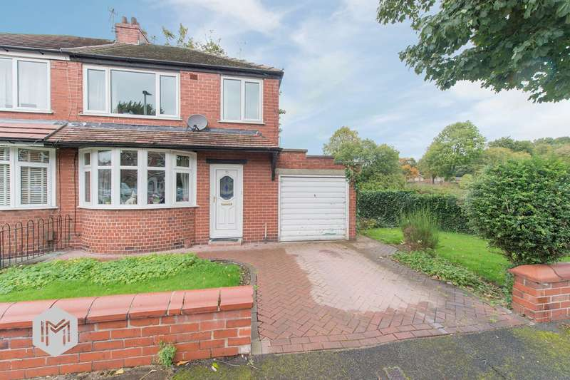 3 Bedrooms Semi Detached House for sale in Brecon Drive, Bury, BL9