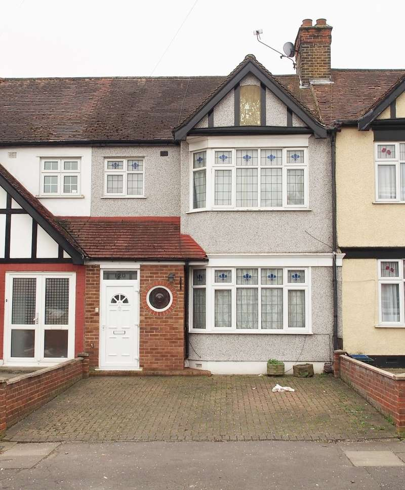 3 Bedrooms Terraced House for sale in Otley Drive, Gants Hill, Ilford, Essex, IG2 6QY