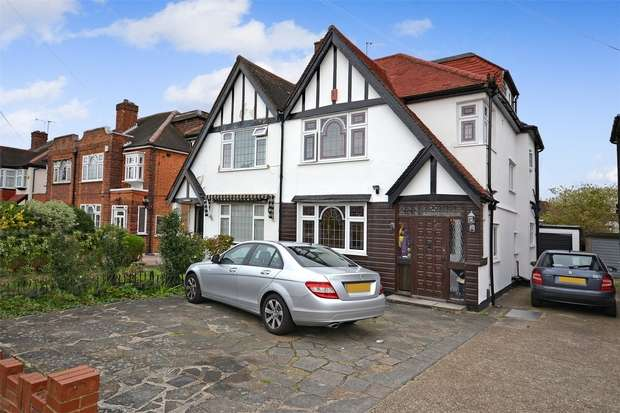 4 Bedrooms Semi Detached House for sale in Audrey Gardens, WEMBLEY, Middlesex