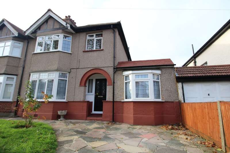 3 Bedrooms Semi Detached House for sale in Courtenay Road, Worcester Park, KT4