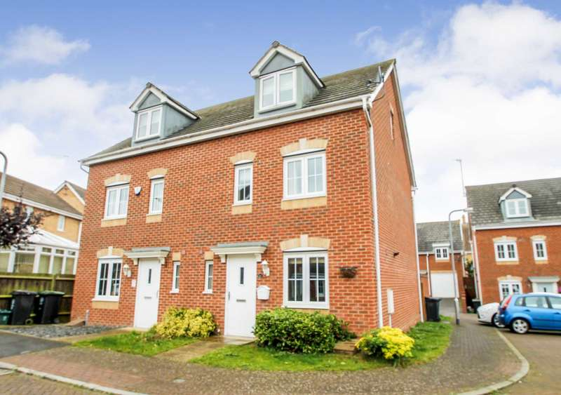 4 Bedrooms Semi Detached House for sale in Regency Court, Rushden