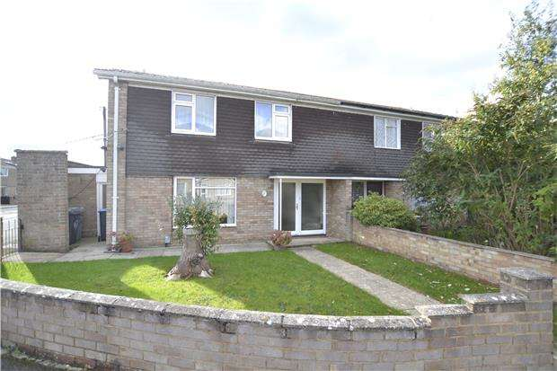 4 Bedrooms Semi Detached House for sale in Chandler Close, Bampton, Oxon, OX18 2NW